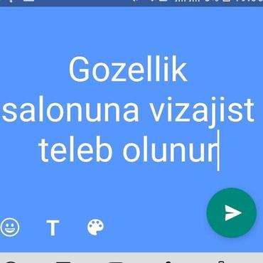 Bakı şəhərində Razinde gozellik salonuna ustalar teleb olunur