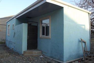 Bakı şəhərində 2 otaq, kalidor, 1 metbex, 1 san-qov, 0. 10 kv heyet. Evin ozulu beton