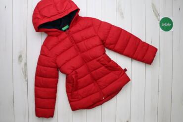 Верхняя одежда - Киев: Дитяча куртка United Colors of Benetton, р. M, 7-8 років    Довжина: 5
