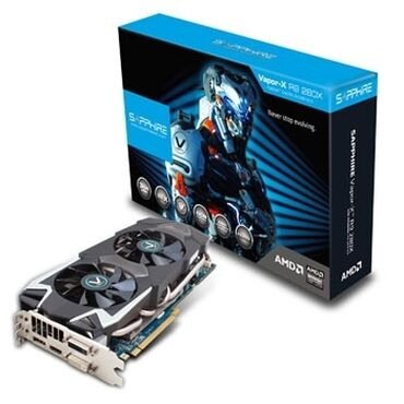 Электроника - Бишкек: Продаю видеокарты AMD Radeon R9 280x, Rx 570, Rx 470.Amd Radeon R9