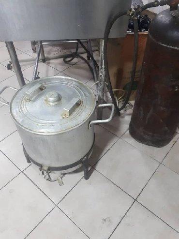оборудование в Кыргызстан: Продаю промышленную электрическую мантышницу для кафе и столовой, с пя