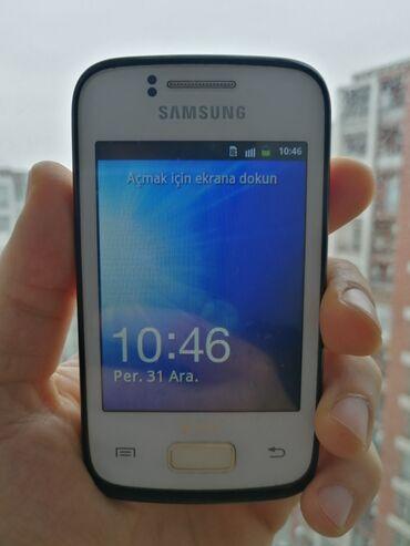 Samsung galaxy young - Азербайджан: Б/у Samsung Galaxy Young Duos Белый