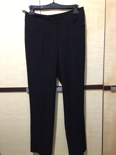 Zenske pantalone crne - Srbija: Crne elegantne zenske pantalone sa elastinom