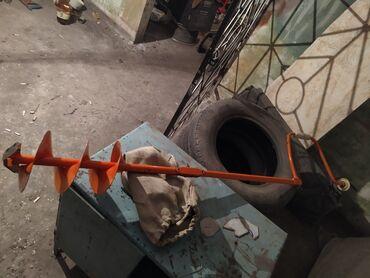 рыбалка в бишкеке пруды in Кыргызстан | ПРОДАЖА УЧАСТКОВ: Ледобур ножи новые пару раз бурил