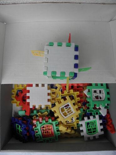Kocke za slaganje 47 kom. dim.1 kocke 6, 5x6, 5 cm.,bez orig.kutije