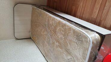 Кровать детская с матрасом б/у длина 180 см состояние идеальное