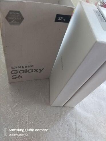 s6 samsung qiymeti - Azərbaycan: İşlənmiş Samsung Galaxy S6 32 GB qara