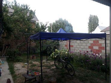 Садовые зонты - Кыргызстан: Срочно продаю шатер/чатыр.состояние отличное.размер 3м/2.80