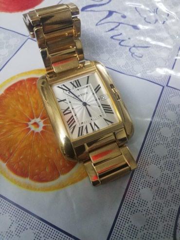 Мужские Золотые Фэшн Наручные часы Cartier в Бишкек