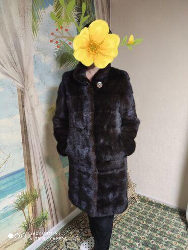 Личные вещи - Чолпон-Ата: Продаю норковую натуральную шубу (Копингаген) шиколадного цвета