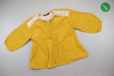 1537 объявлений: Жіноча блуза з мереживом Zara, р. S   Довжина: 56 см Довжина рукава: 3