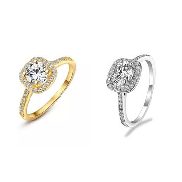 Кольцо новое, кольца бижутерия, размеры 16-17 серебристый, золотистый