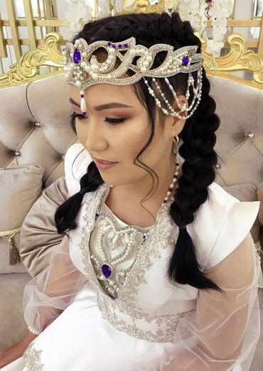 свадебное платье футляр в Кыргызстан: Кыз узатууга платья на заказ