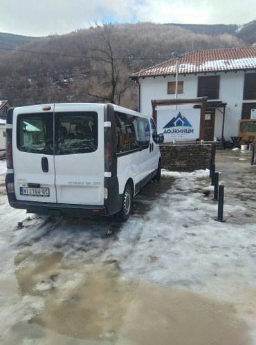 Kombi prevoz putnika 8+1 u zemlji i inostranstvu