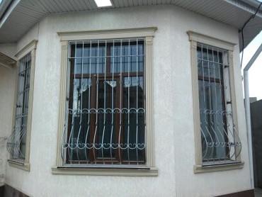 решётки для окон в Кыргызстан: Безопасные решетки для окон. ( Решетки для окон любой сложности
