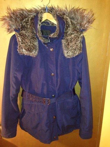 Teget jakna kupljena u New Jorker-u placena 9500 kao nova bez jednog o - Beograd