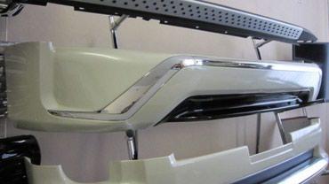 Toyota Land Cruiser 2015-2017 обвес Executive Black/ White в Бишкек