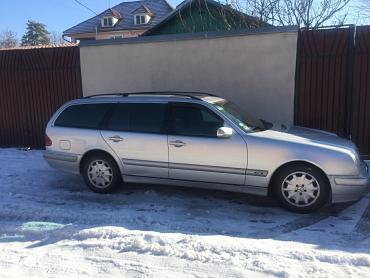 Mercedes-Benz в Кыргызстан: Mercedes-Benz E 270 2.7 л. 2002 | 300000 км