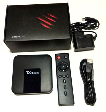 Android Smart TV BOX Tx3 Mini WiFi 2GB + 16GB. Uređaj omogucava
