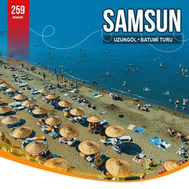 Bakı şəhərində SAMSUN - UZUNGÖL - BATUMİ TURU