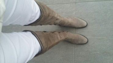La manga cizme u odlicnom stanju br.40 pacene 18000din - Belgrade