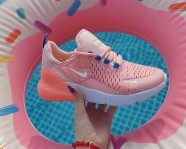 Ženska patike i atletske cipele | Vladicin Han: Bebi roze Nike 270Lake, udobne, preslatkeeBrojevi od 36 do 40Cena 2699