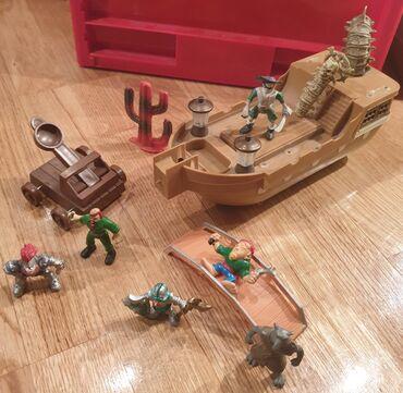 Brod most gusari, vitez most, kaktus ekipa za igru, igracke za