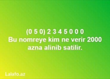 nömrə - Azərbaycan: Zerkalni Nömrə