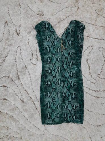 Платья - Цвет: Зеленый - Кок-Ой: Платье мини, новое. Размер стандарт. Цена 300с
