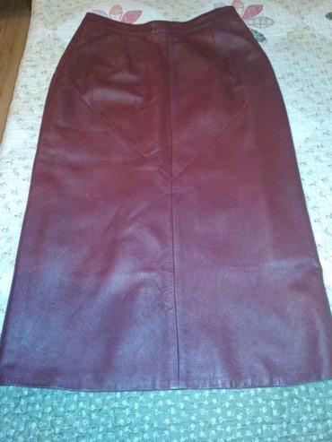 Продаю турецкую кожаную юбку 44 размера. торг в Бишкек