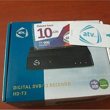 Atv+ simart karti 12 az Atv+ modul 40 az Atv+ aparati 90 az Satis ve q