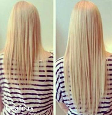 Umetak za kosu na klipse. U svim bojama. Kosa je poluprirodna i veoma - Dimitrovgrad