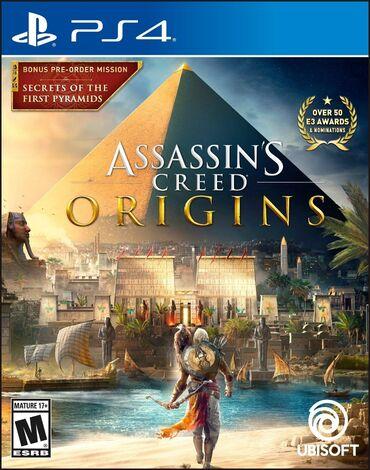 PS4 (Sony Playstation 4) Azərbaycanda: Asassins creed origins. Sony PlayStation 4 Oyunlarının Və