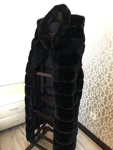 афганский казан бишкек in Кыргызстан | КАЗАНДАР: Чёрная длинная меховая жилетка, очень тёплая и ооочень длинная