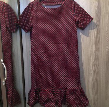 Женская одежда в отличном состояниисостояние: новых   Платье в горош