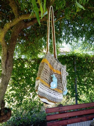 Ostalo | Srbija: Rucno radjena vrecasta torba unikat