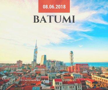 Bakı şəhərində Batumi kobuleti turu
