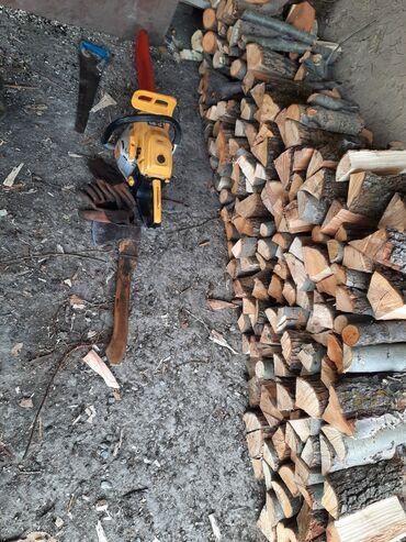 Услуги бензопилы! Спилка деревьев, валка, распил дерева на дрова