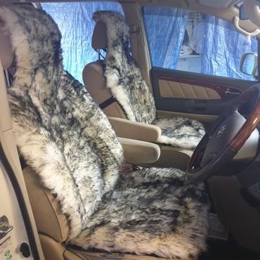 Меховые накидки на сиденья в Бишкек
