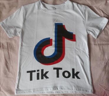 Pamučne TIK TOK majice za decu, veličine od 6-16