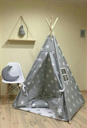 Bakı şəhərində Uşaq çadırı