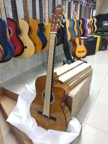 виолончель музыкальный инструмент в Азербайджан: Gitara Klassik Yeni ModelÇanta hədiyyəMizrab hədiyyəYeni başlayanlar