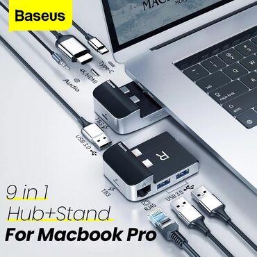 Baseus firmasinin original Hub adapter yeni versiyya Baseus Armor Age