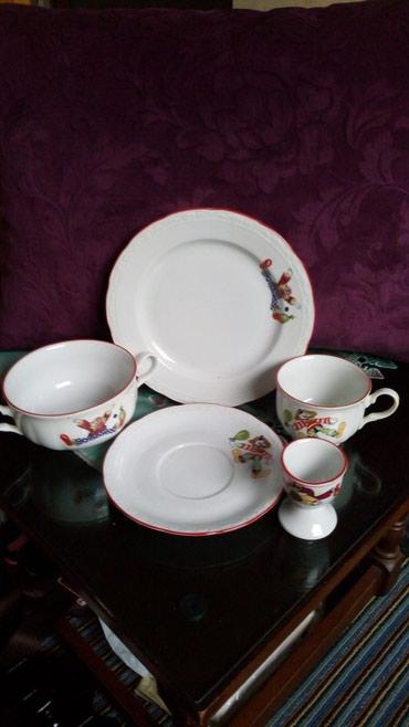 Porcelanski nov komplet za dete(hranjenje)..iz 5 delova..cena fiksna.. - Kraljevo