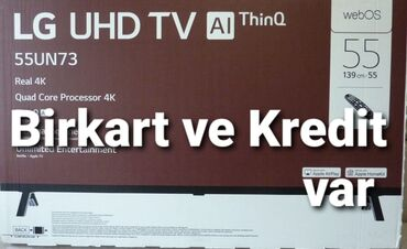 SAMSUNG ve LG 2020 model 4k Smartnagdi ve kreditle satisi butun