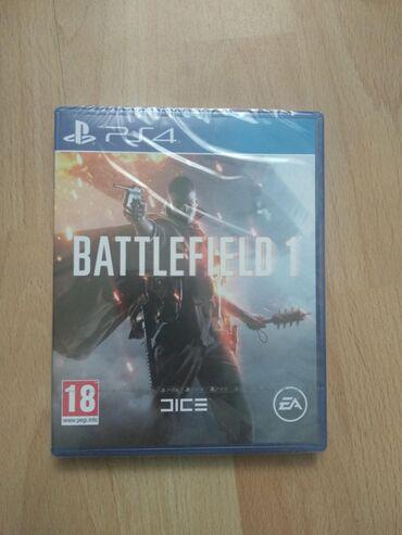 PS4 (Sony Playstation 4) | Srbija: PS4 Battlefield 1 NOVO. Igrica je nova u celofanu