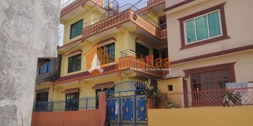 A new and beautiful house having land area 0-4-0-0 of 2.5 floors, in Kathmandu