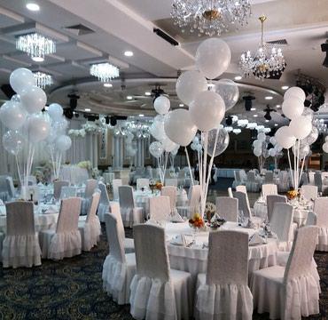 шары фонарики в Кыргызстан: Белоснежные шары на свадьбу!