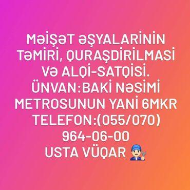 sabirabadda ev alqi satqisi - Azərbaycan: Təmir   Paltaryuyan maşınlar   Zəmanətlə, Evə gəlməklə