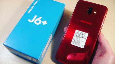 Samsung Galaxy J6+ 2018 red в Xırdalan